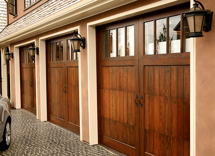 wood vs steel garage doors